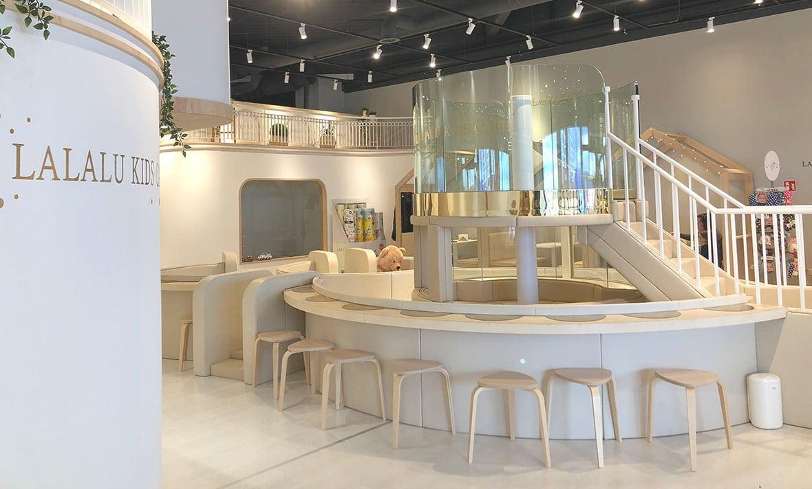 Lalalu Kidscafé im Parndorf Fashion Outlet Header